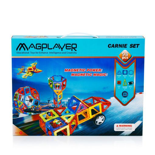 magnetic tiles 98 pieces