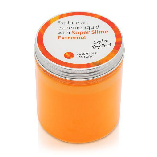 Orange super slime extreme 400 g