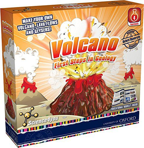 Make your own volcanic eruption